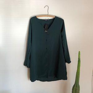 Emerald Green Nasty Gal Dress